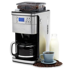Andrew James Bean to Cup Coffee Machine with Integrated Grinder
