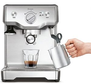 Sage BES810BSS the Duo Temp Pro Espresso Machine